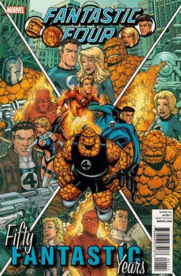 Fantastic Four - 50 Fifty Fantastic Years