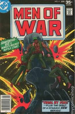 Men of War Vol. 1(1977-1980) (Comic Book) #4