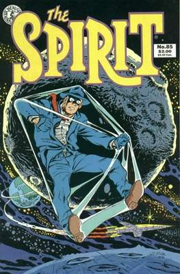 The Spirit (1983-1992) (Comic book. 32 pp) #85