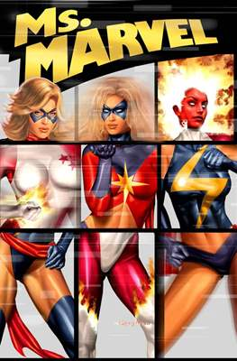 Ms. Marvel (Vol. 2 2006-2010) (Softcover) #4