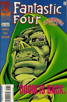 Fantastic Four Vol. 1 (1961-1996) (saddle-stitched) #406