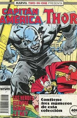 Capitán América Vol. 1 (1985-1992) (Retapado Rústica) #8
