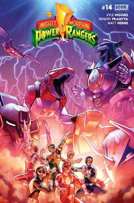 Mighty Morphin Power Rangers (Comic Book) #14