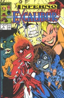 Excalibur Vol. 1 (Comic Book) #6