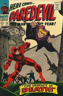 Daredevil Vol. 1 (1964-1998) (Comic Book) #20