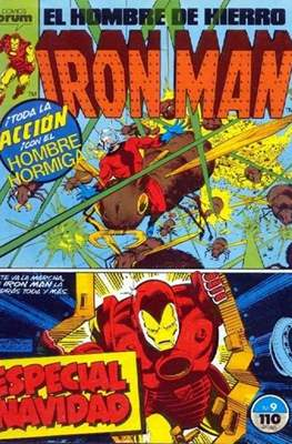 Iron Man Vol. 1 / Marvel Two-in-One: Iron Man & Capitán Marvel (1985-1991) (Grapa, 36-64 pp) #9
