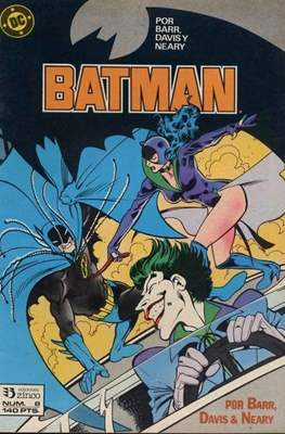 Batman (1987-1993) (Grapa) #8