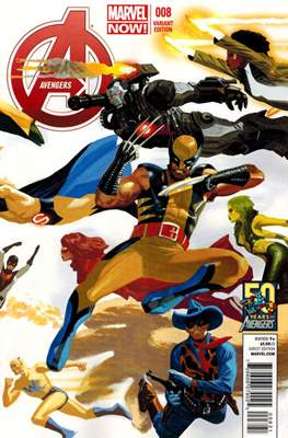 Avengers Vol. 5 (2013-2015 Variant Covers) (Comic Book) #8