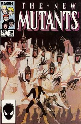 The New Mutants (Comic Book) #28