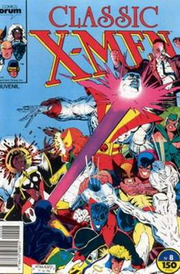 Classic X-Men Vol. 1 (1988-1992) #8