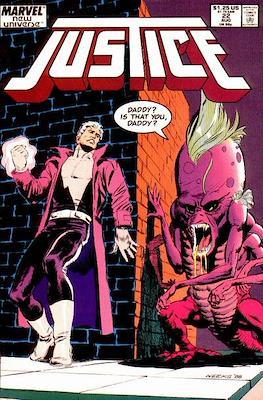 Justice. New Universe (1986) (Grapa.) #22