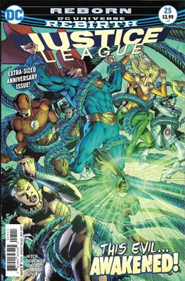 Justice League Vol. 3 (2016-2018) (Comic-book) #25
