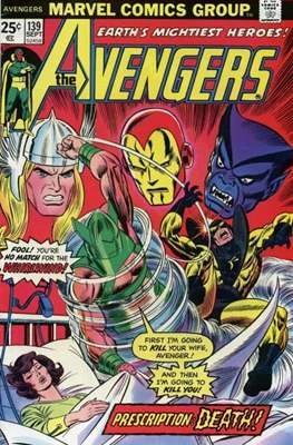 The Avengers Vol. 1 (1963-1996) (Comic Book) #139