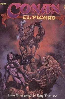 Conan el Bárbaro. Novelas graficas