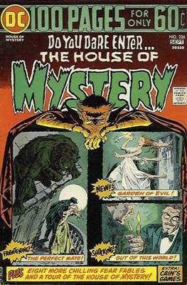 The House of Mystery (Grapa) #226