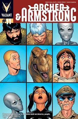 Archer & Armstrong (Comic Book) #11