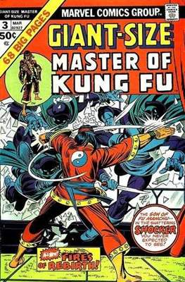 Giant-Size Master of Kung Fu (Comic Book. 1974 - 1975. Yellow Claw by Kirby reprints) #3