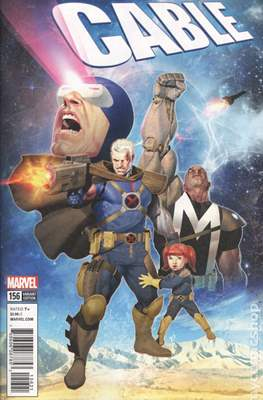 Cable (2017- Variant Covers) (Comic Book) #156