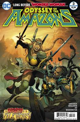 Odyssey Of The Amazons (Comic-book) #3