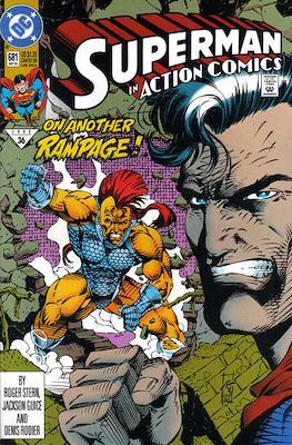 Action Comics Vol. 1 (1938-2011; 2016-) (Comic Book) #681