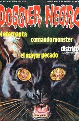 Dossier Negro (Rústica y grapa [1968 - 1988]) #182