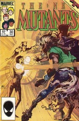 The New Mutants (Comic Book) #30