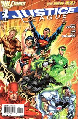 Justice League Vol. 2 (2011-2016) #1