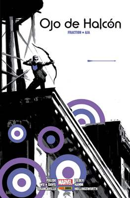 Ojo de Halcón de Matt Fraction y David Aja. Marvel Integral