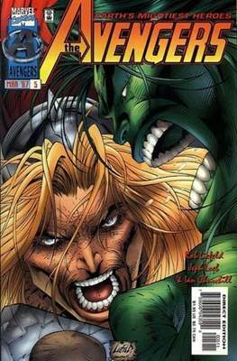 The Avengers Vol. 2 Heroes Reborn (1996-1997 - Variant Covers) (Comic Book) #5