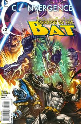 Convergence Batman Shadow of the Bat (2015) (Comic book) #2