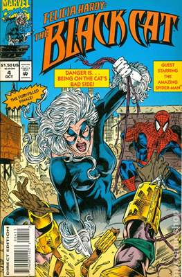 Felicia Hardy: The Black Cat (1994) (Comic book) #4