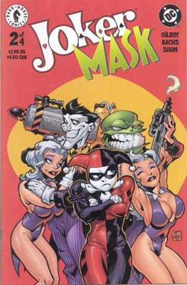 Joker / Mask (Grapa) #2