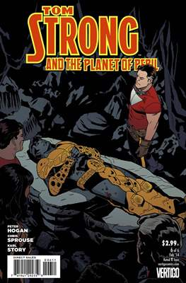 Tom Strong and the Planet of Peril (Grapa) #6