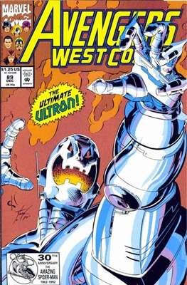 West Coast Avengers Vol. 2 (Comic-book. 1985 -1989) #89