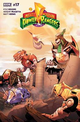 Mighty Morphin Power Rangers (Comic Book) #17