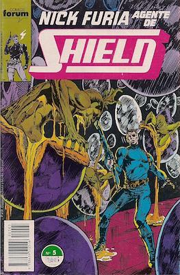 Nick Furia, Agente de SHIELD vol. 1 (1990-1991) (Grapa. 17x26. 32 páginas. Color. (1990).) #5