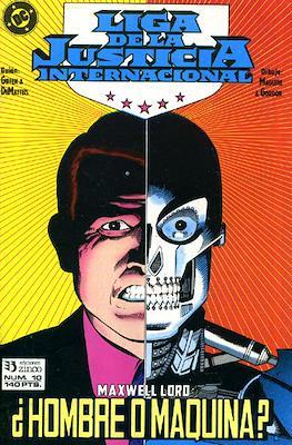 Liga de la Justicia / Liga de la Justicia internacional / Liga de la Justicia de América #10