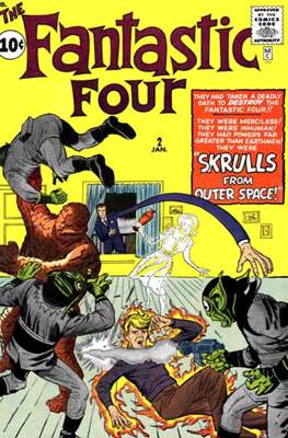 Fantastic Four Vol. 1 (1961-1996) #2