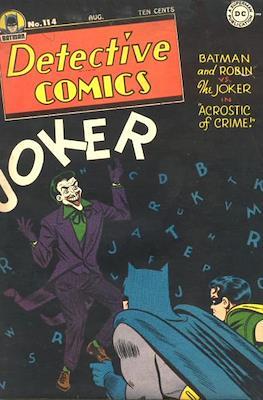 Detective Comics Vol. 1 (1937-2011; 2016-) (Comic Book) #114