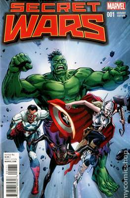 Secret Wars (2015) Variant Covers (Comic Book) #1.13