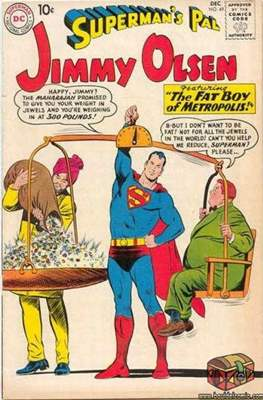 Superman's Pal, Jimmy Olsen / The Superman Family (Comic Book) #49
