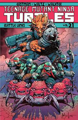 Teenage Mutant Ninja Turtles (Softcover) #21