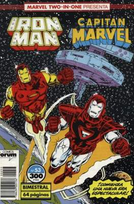 Iron Man Vol. 1 / Marvel Two-in-One: Iron Man & Capitán Marvel (1985-1991) (Grapa, 36-64 pp) #53