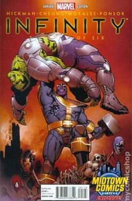 Infinity (2013-2014 Variant Cover) #1.14