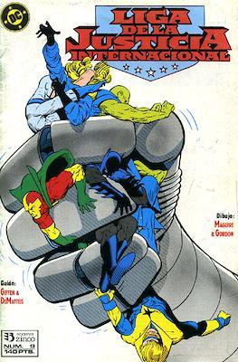 Liga de la Justicia / Liga de la Justicia internacional / Liga de la Justicia de América #9
