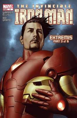 The Invincible Iron Man Extremis (Grapa) #3