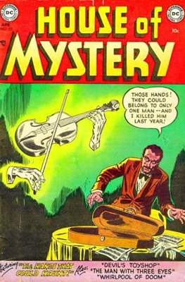 The House of Mystery (Comic Book) #25