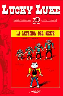 Lucky Luke. Edición coleccionista 70 aniversario (Cartoné con lomo de tela, 56 páginas) #93