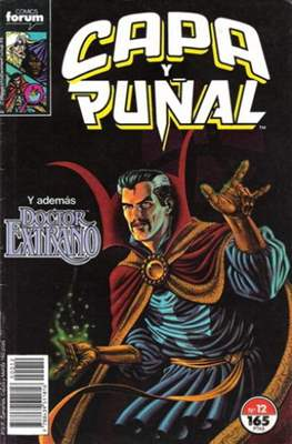 Capa y Puñal Vol. 1 / Marvel Two in One: Capa y Puñal & La Cosa (1989-1991) (Grapa 24-64 pp) #12