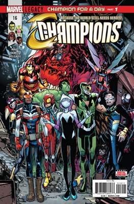 Champions Vol. 2 (Comic Book) #16
